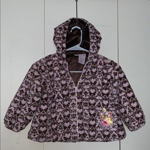 Soft & Fluffy Disney Jacket 4T pre owned